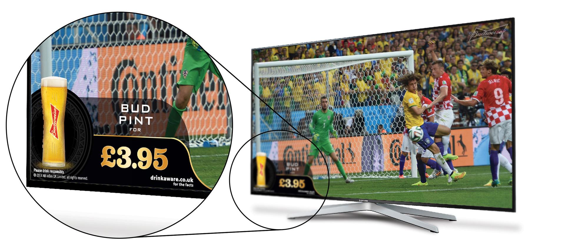 Budweiser - Smart TV (detail)