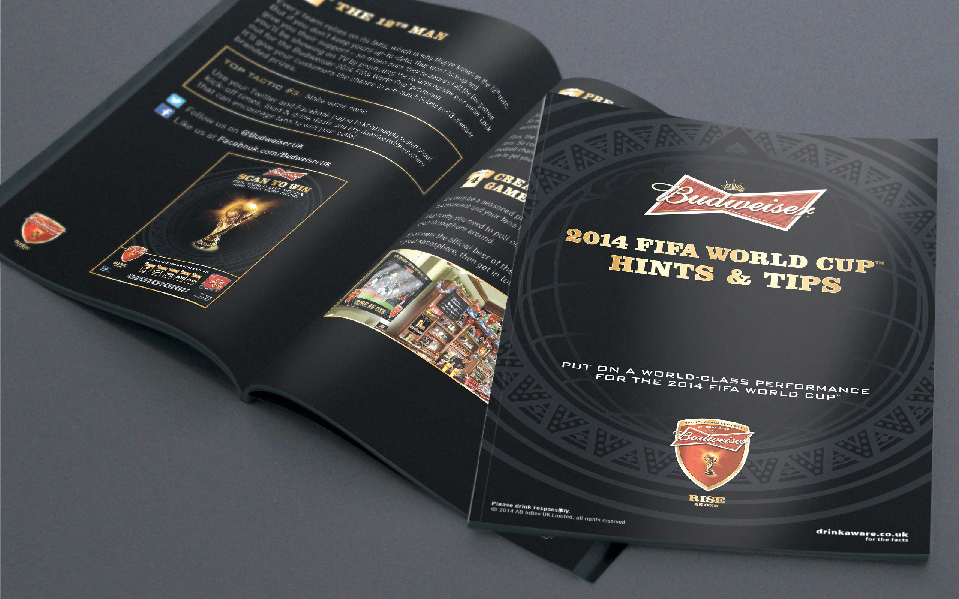 Budweiser - Hints and Tips (wholesale) print
